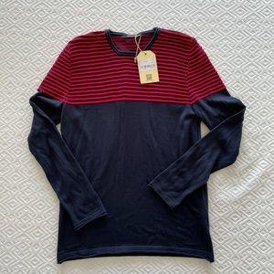 Striped light sweater